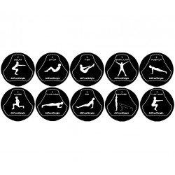 Discos de ejercicios