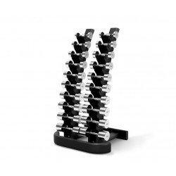 Rack vertical mancuernas Élite 10 pares
