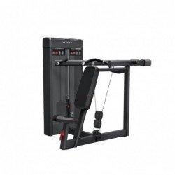Converging shoulder press
